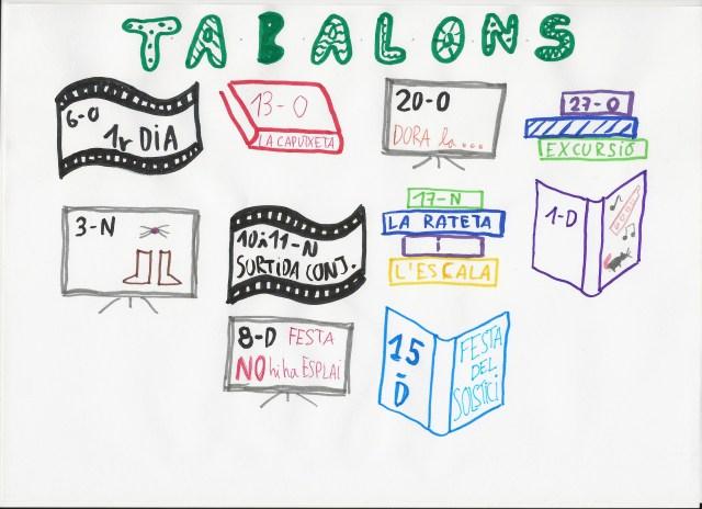 Planning Tabalons 1r Trimestre