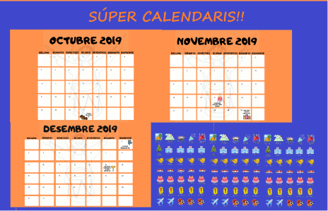 Publicació INSTA 30è calendaris
